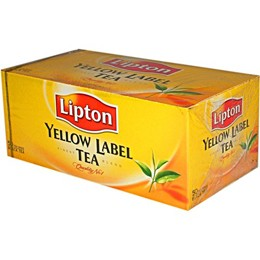 Arbata LIPTON YELLOW LABEL, juoda