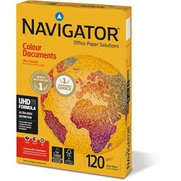 Popierius NAVIGATOR Colour Documents, 120 g/m2, A3, 500 lapų